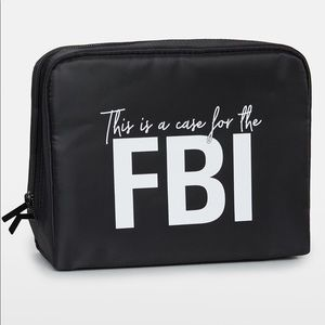 Kylie 'This Is a Case For the FBI' Cosmetics Bag